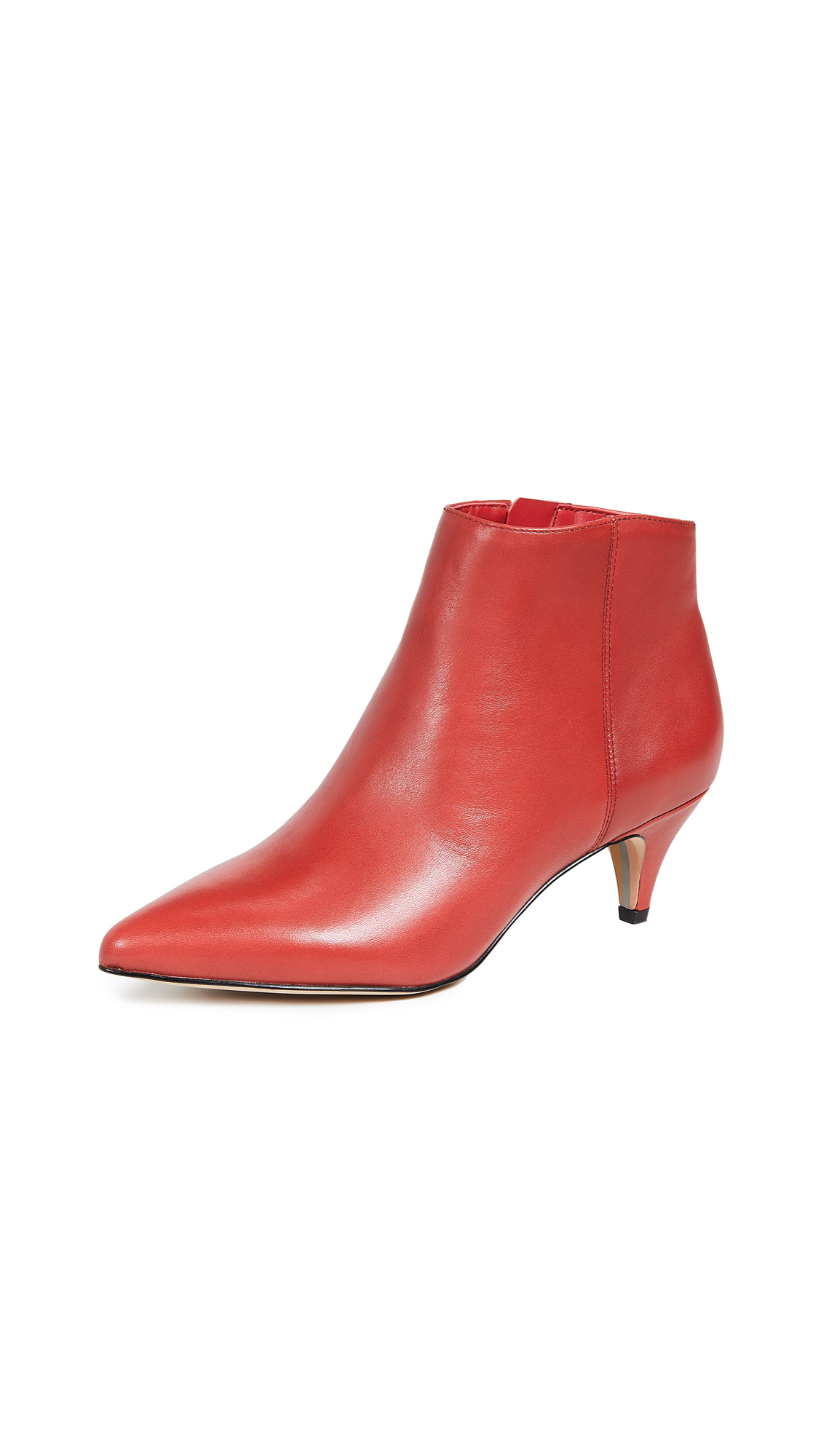 Sam Edelman Kinzey Booties - Deep Red
