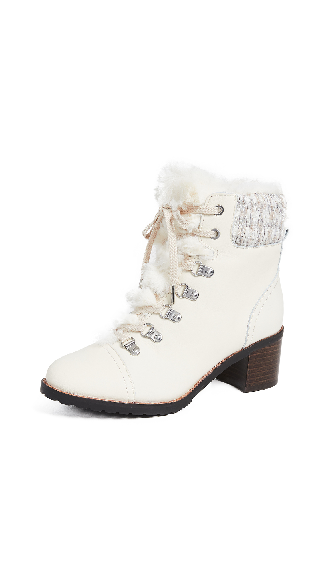 Sam Edelman Manchester Boots - Modern Ivory/Ivory Multi
