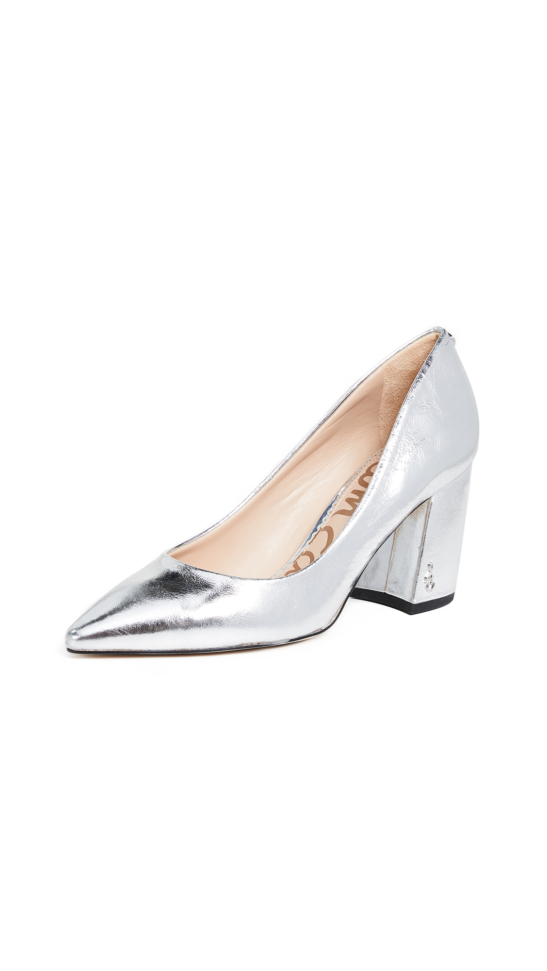 Sam Edelman Tatiana Pumps - Soft Silver