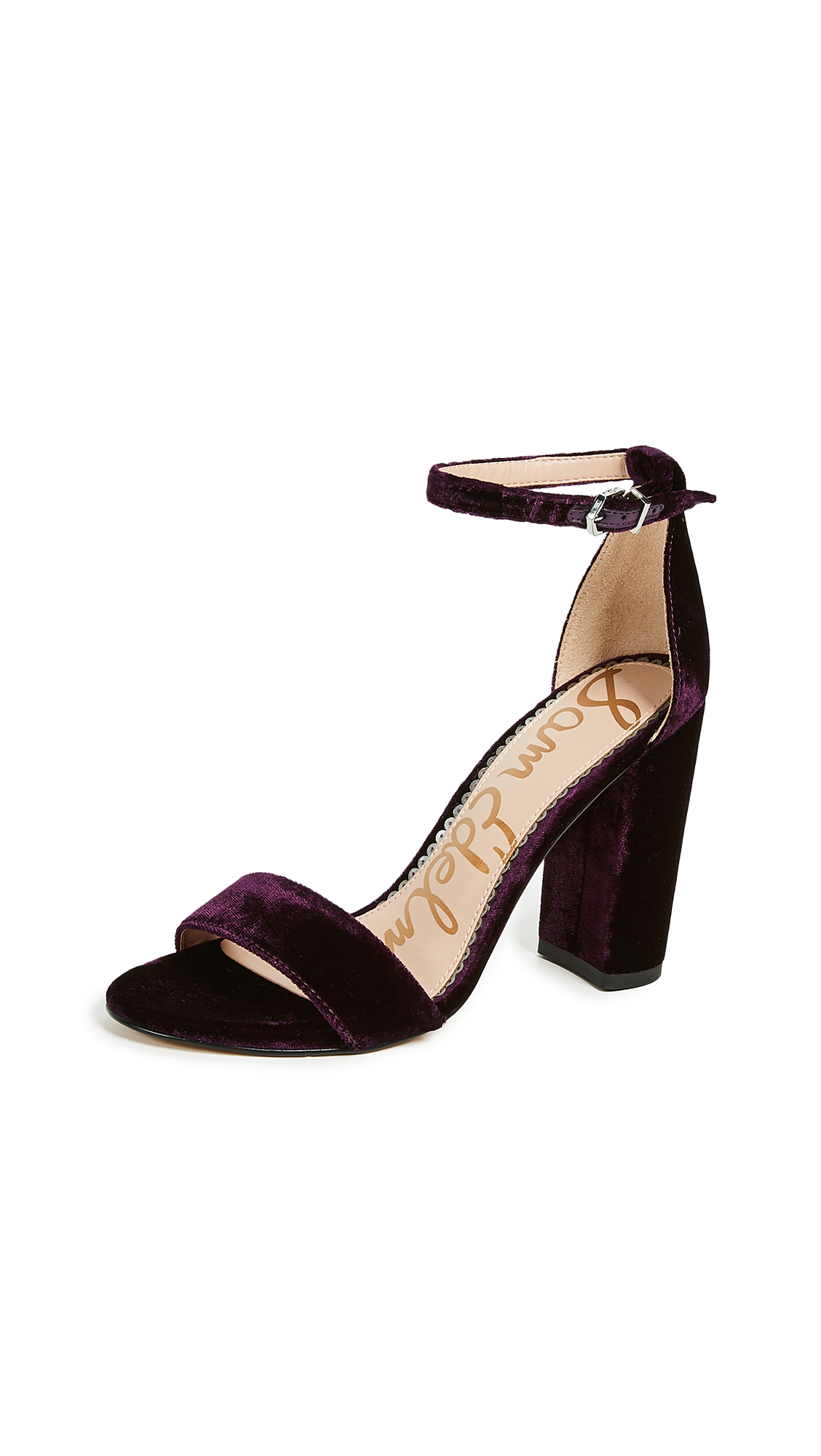 Sam Edelman Yaro Sandals - Raspberry Wine
