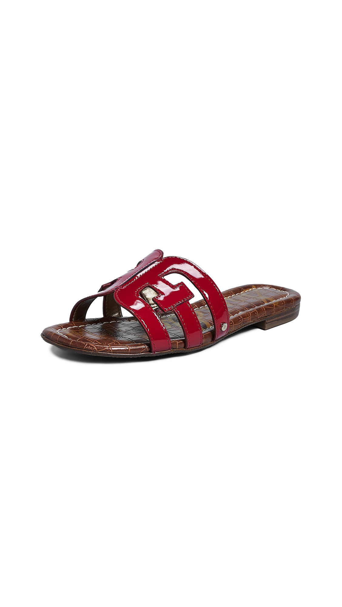 Sam Edelman Bay Slides - Deep Red