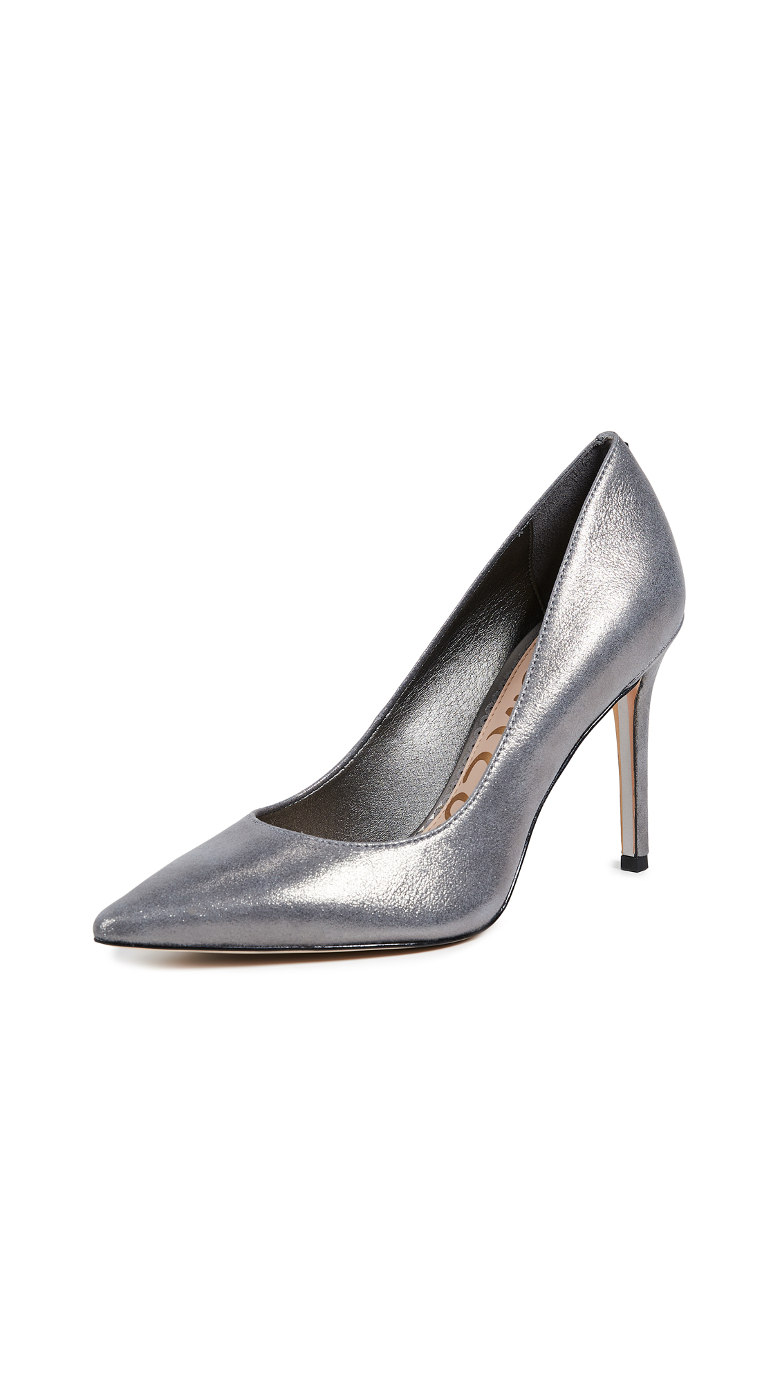 Sam Edelman Hazel Pumps - Dark Pewter
