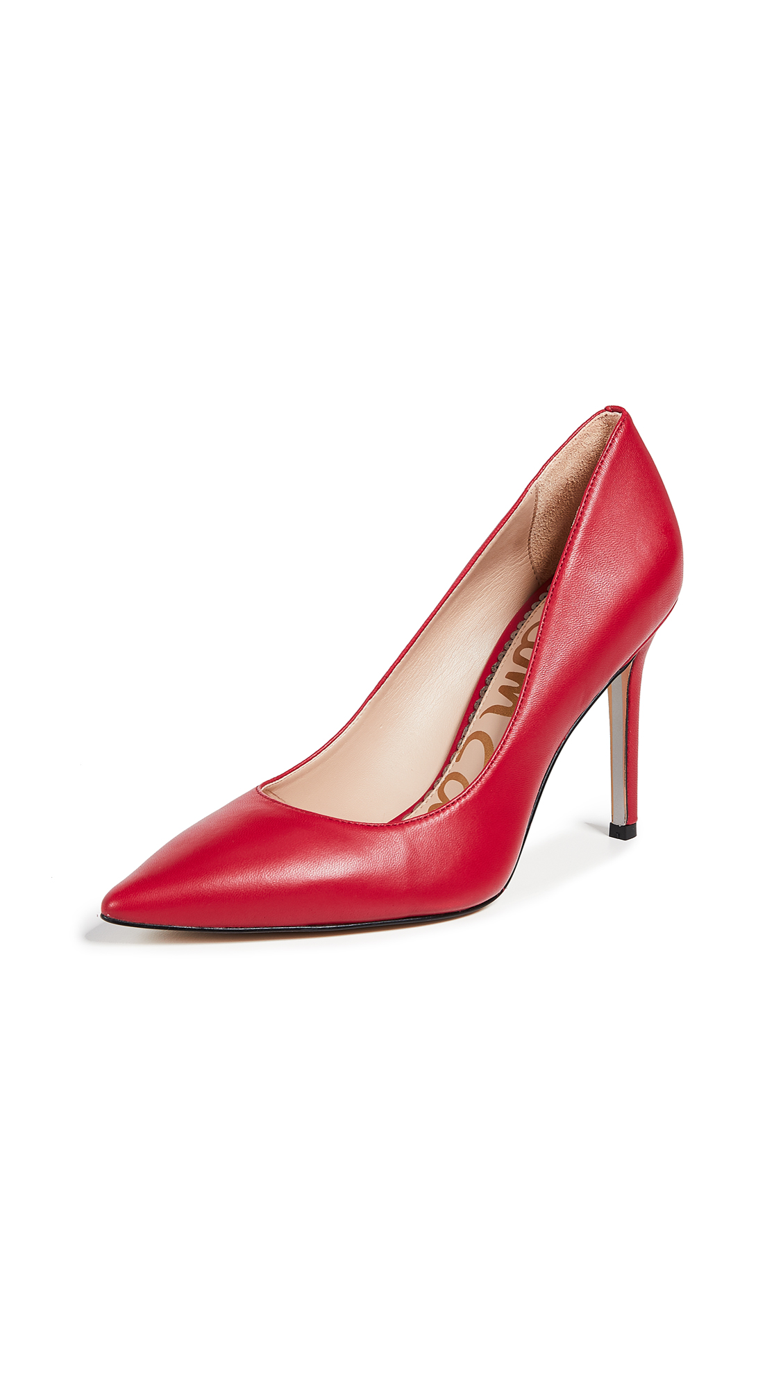 Sam Edelman Hazel Pumps - Deep Red