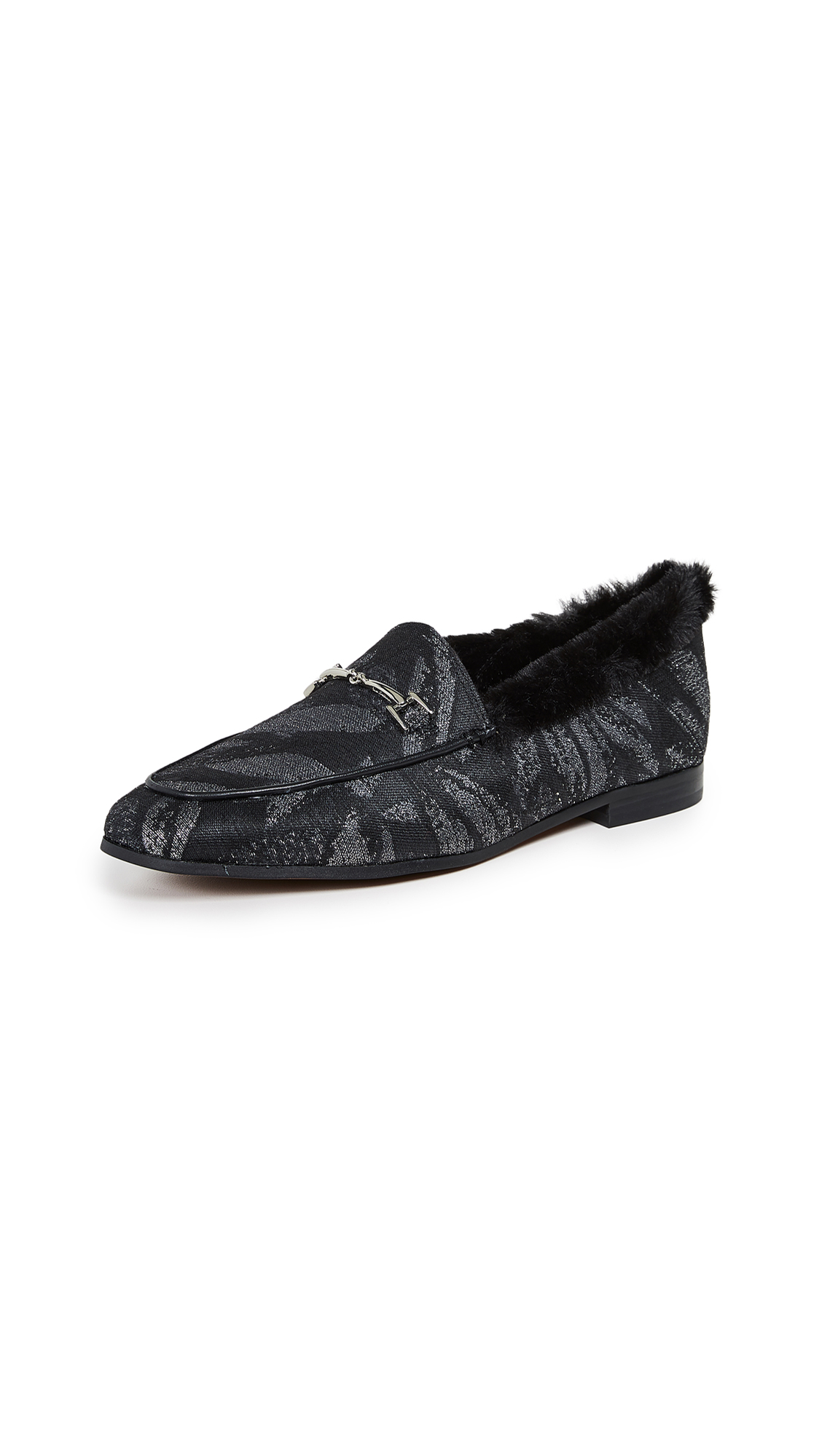 Sam Edelman Loraine Loafers - Silver Multi/Black