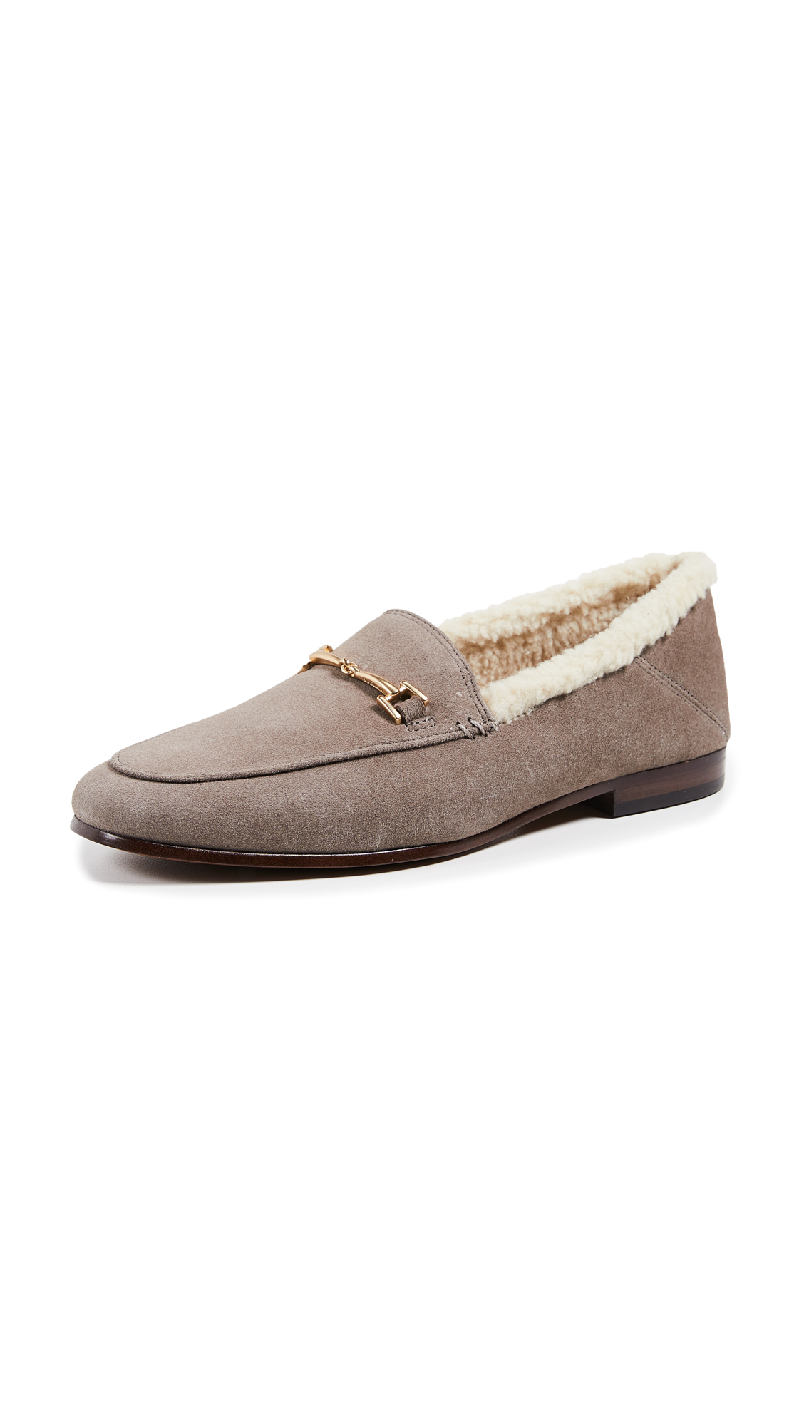 Sam Edelman Loraine Loafers - Flint Grey/Natural