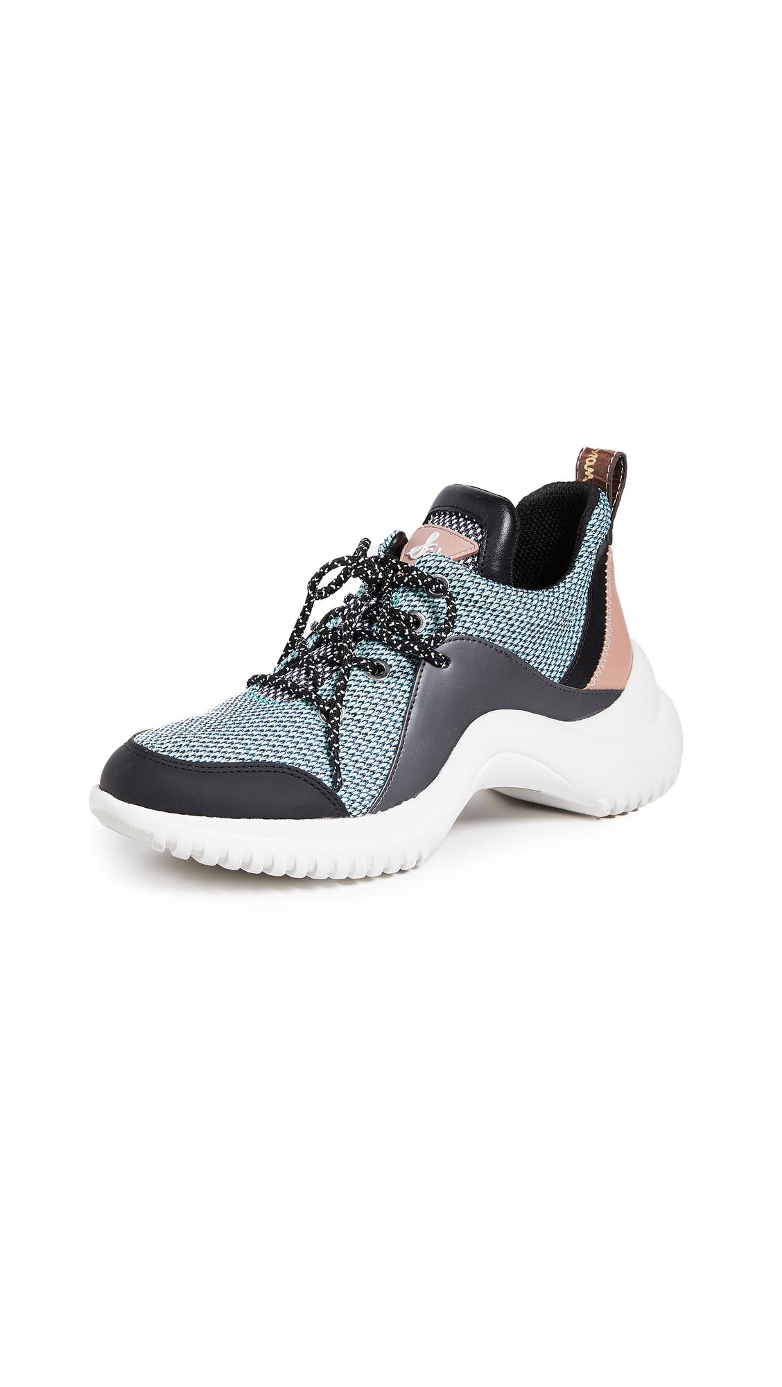 Sam Edelman Meena Sneakers - Mint Multi