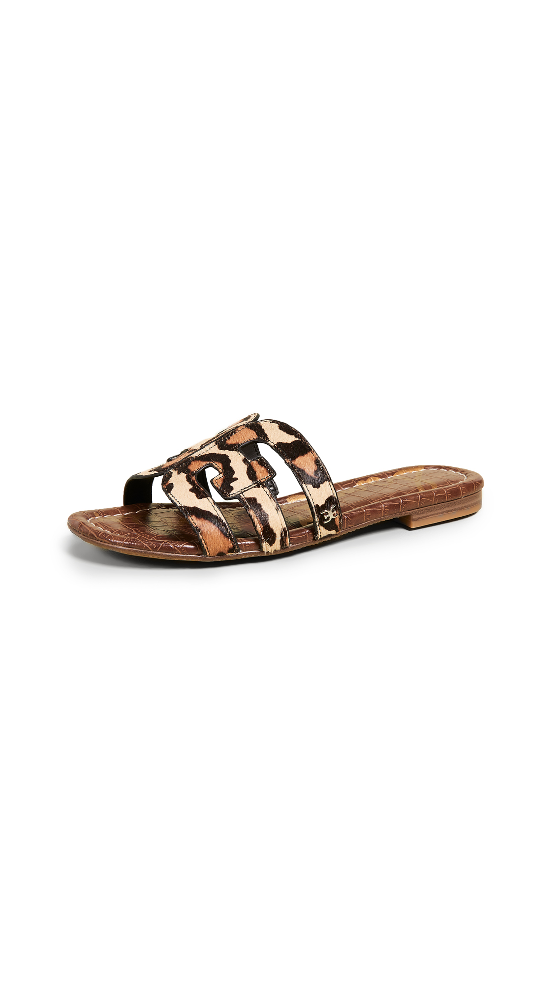 Sam Edelman Bay Slides - New Nude Leopard