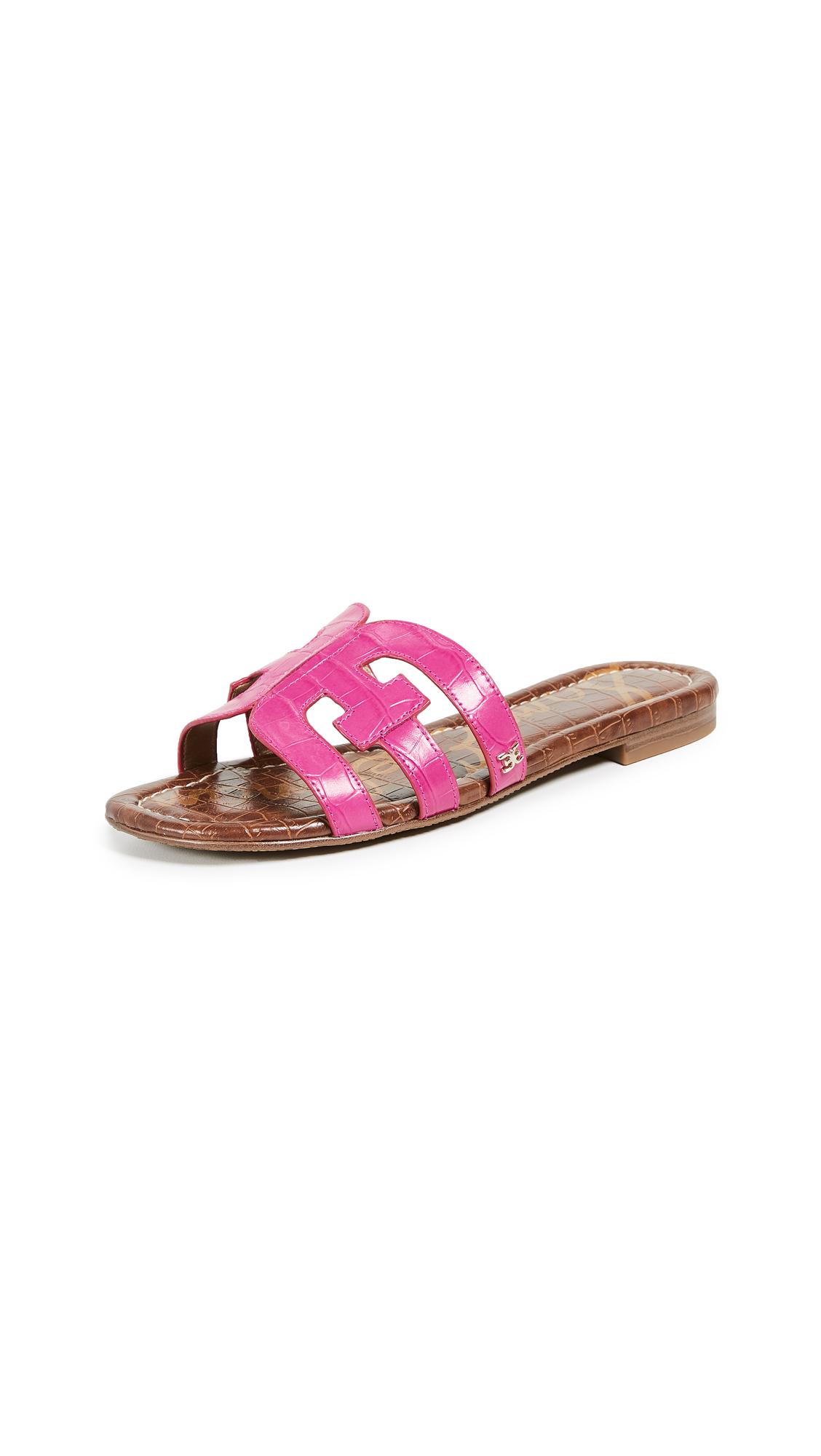 Sam Edelman Bay Slides - Pink Peony