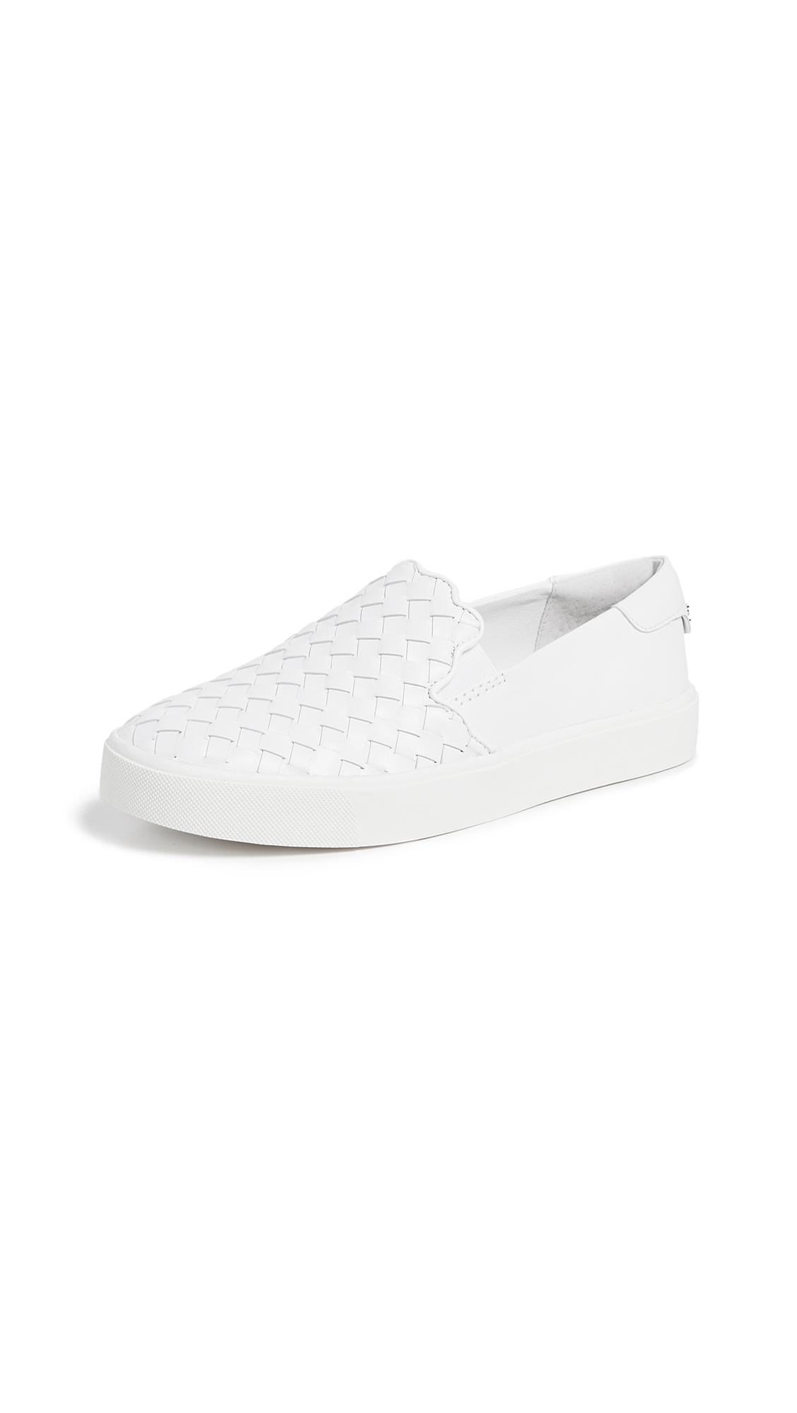 Sam Edelman Eda Slip Ons - Bright White