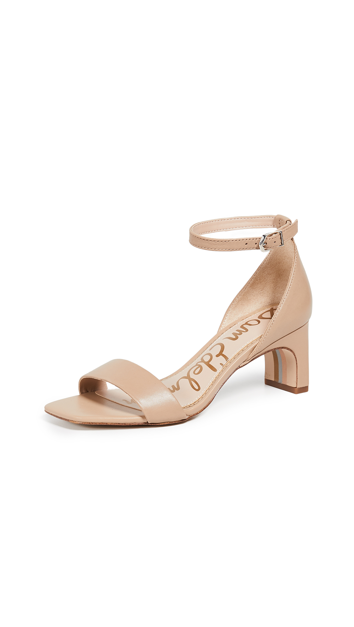 Sam Edelman Holmes Sandals - Classic Nude