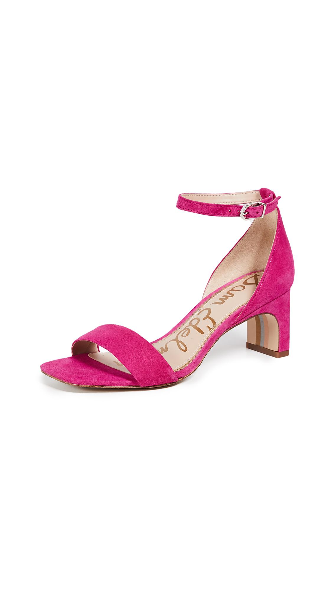 Sam Edelman Holmes Sandals - Pink Peony