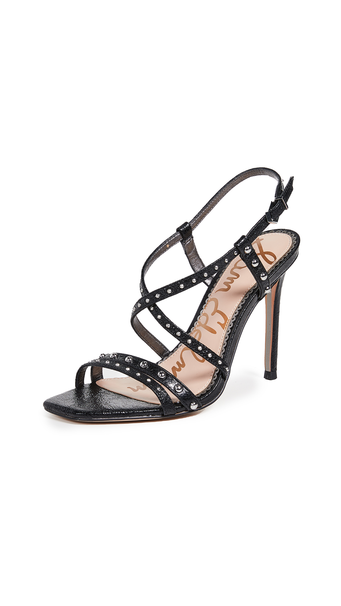 Sam Edelman Lennox Sandals - Black