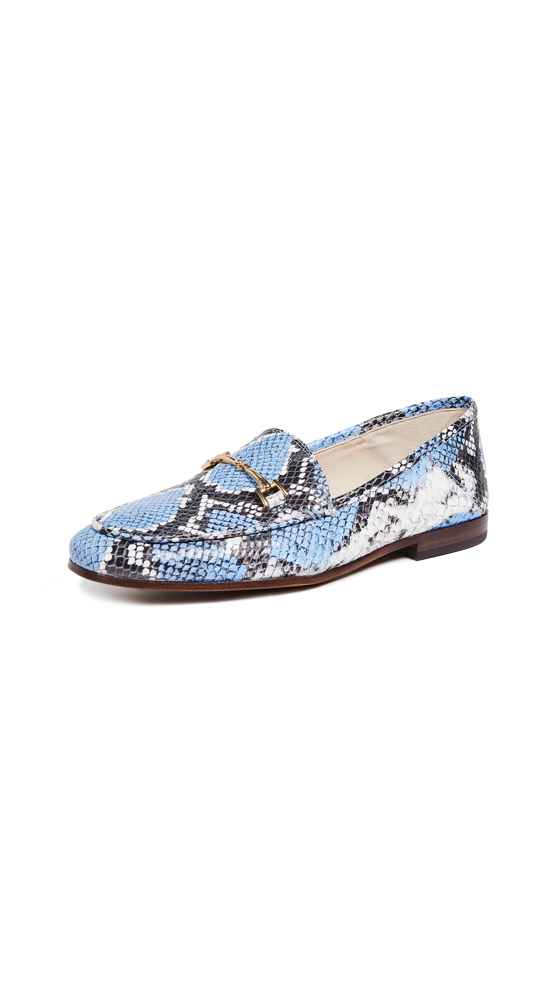 Sam Edelman Loraine Loafers - Cornflower Blue Multi