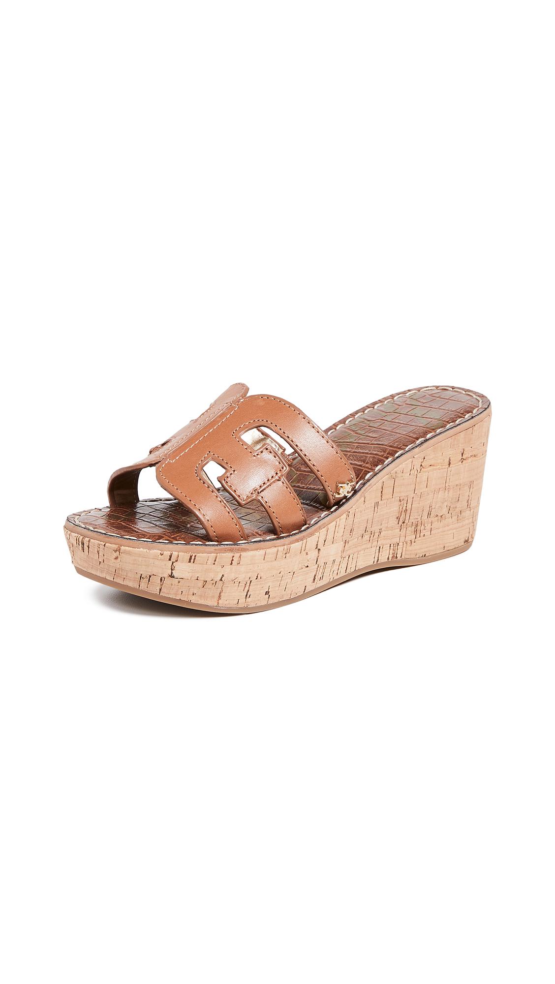 Sam Edelman Regis Slide Sandals - Saddle