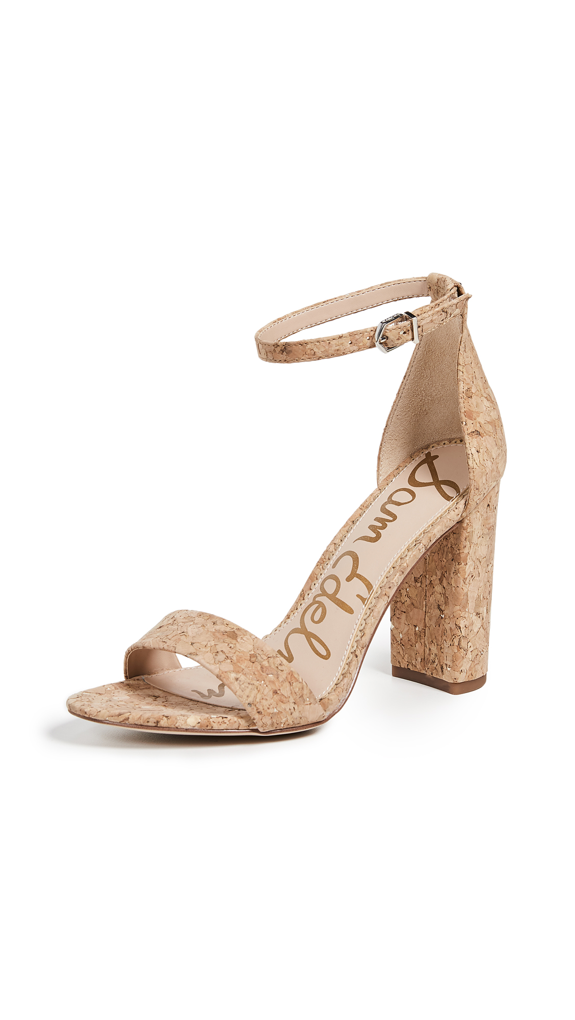 Sam Edelman Yaro Sandals - Natural/Gold
