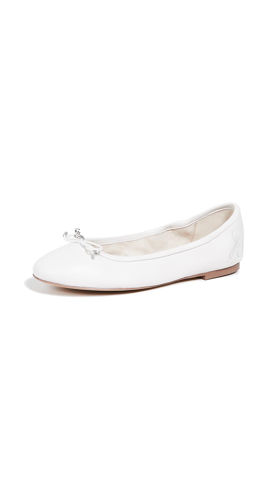 Sam Edelman Felicia Flats - Bright White