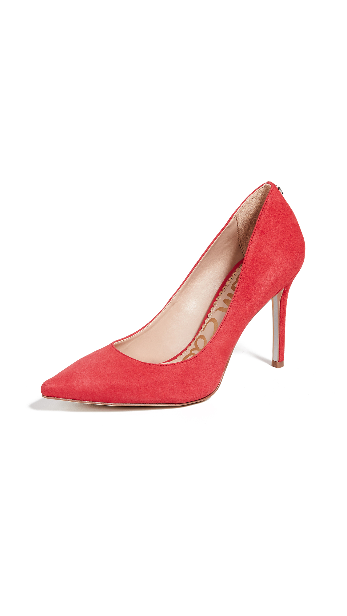 Sam Edelman Hazel Pumps - Coral Punch