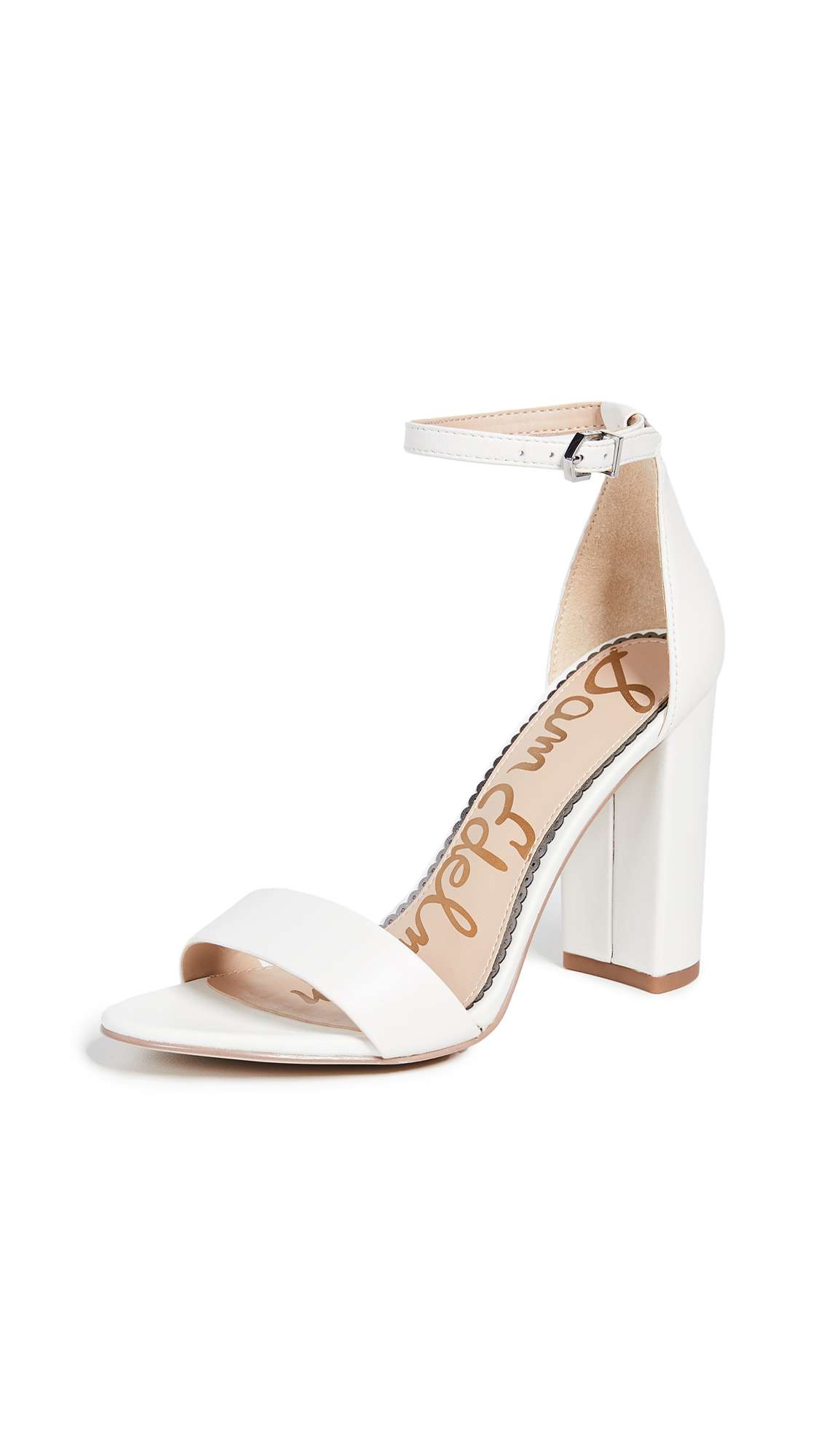Sam Edelman Yaro Sandals - Bright White