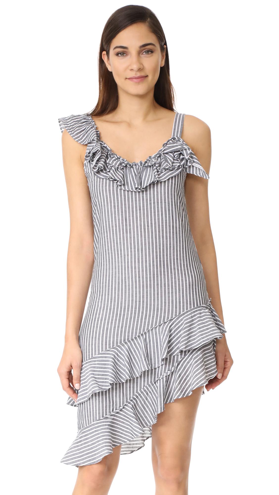 Sam & Lavi Karli Dress In Bondi Stripe