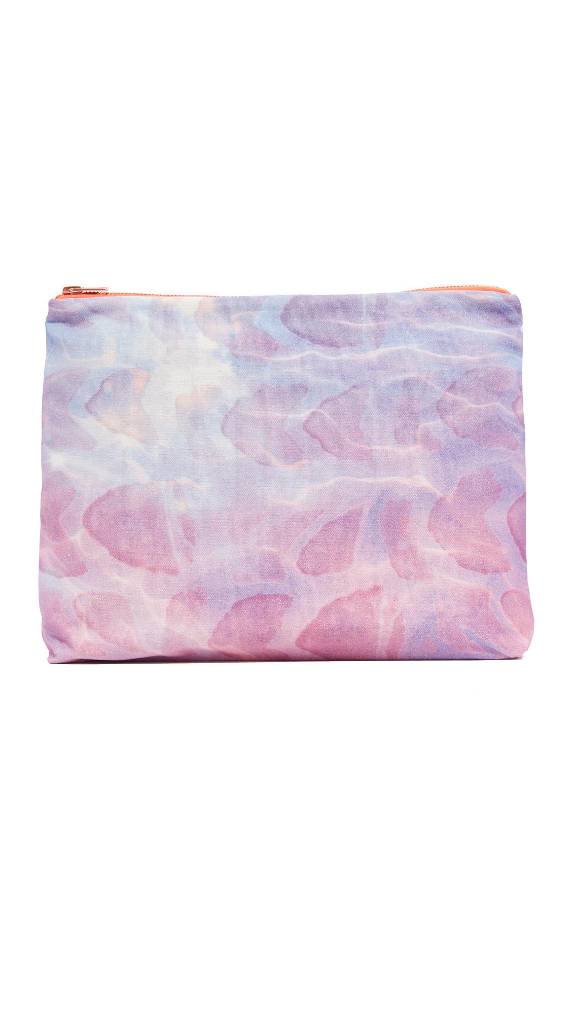 samudra female samudra ocean pouch purple