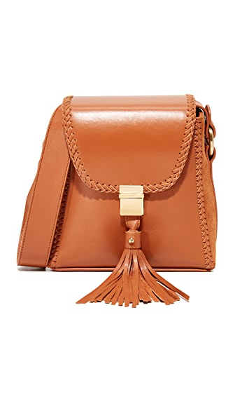 SANCIA Milla Braid Shoulder Bag - Tan