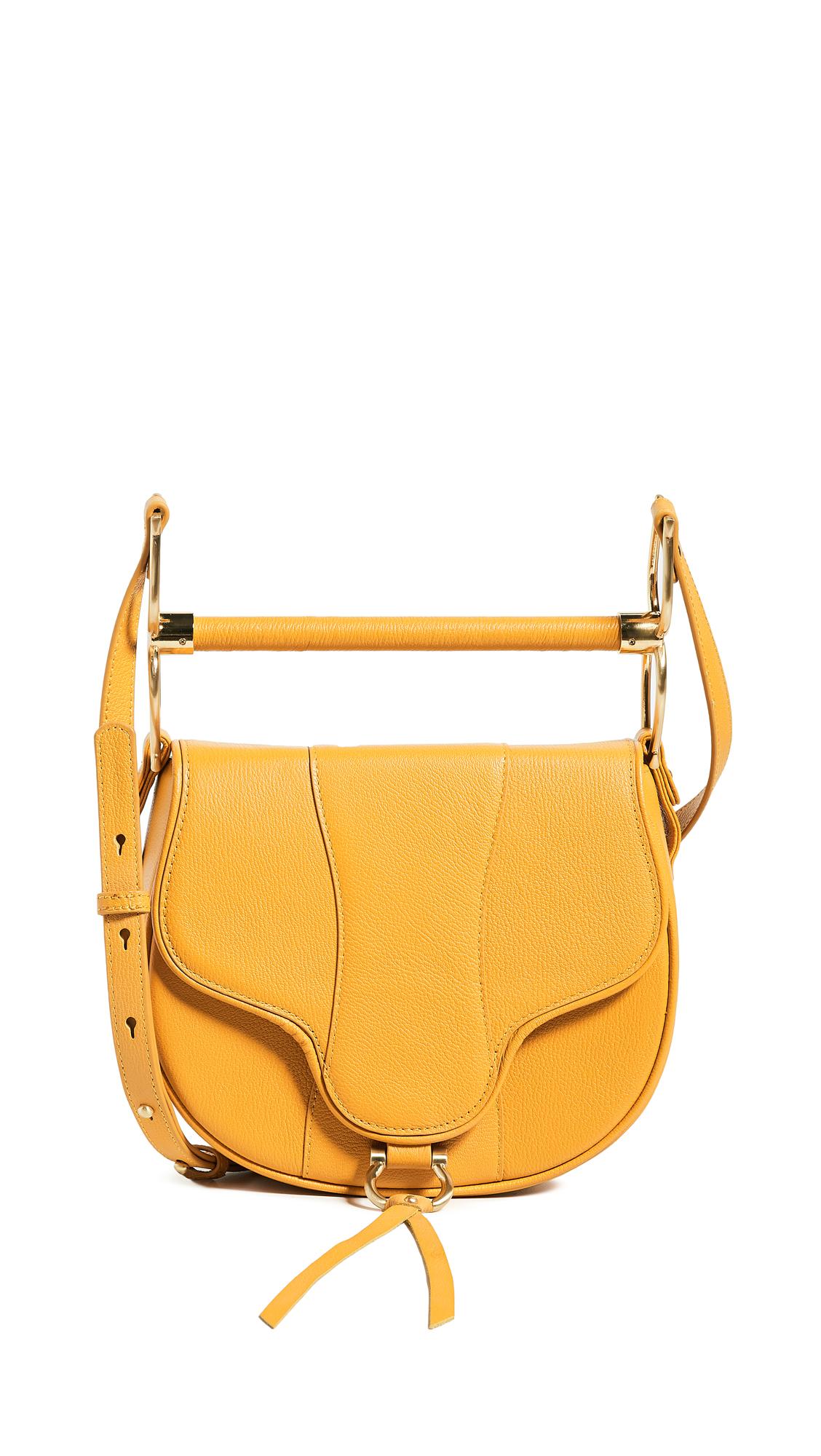 SANCIA Babylon Bar Bag in Yellow