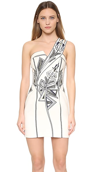 sass & bide Blackest Lava Dress