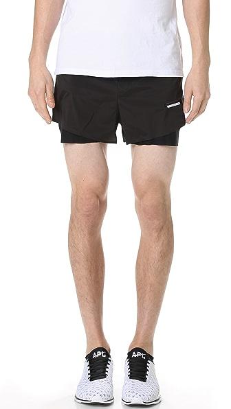 "Satisfy Long Distance 3"" Shorts"
