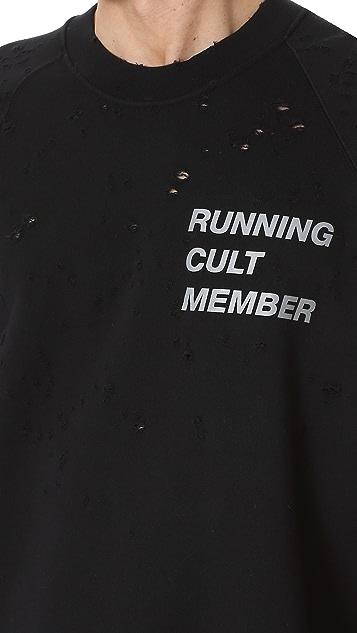 Satisfy Cult Moth Eaten Sweatshirt