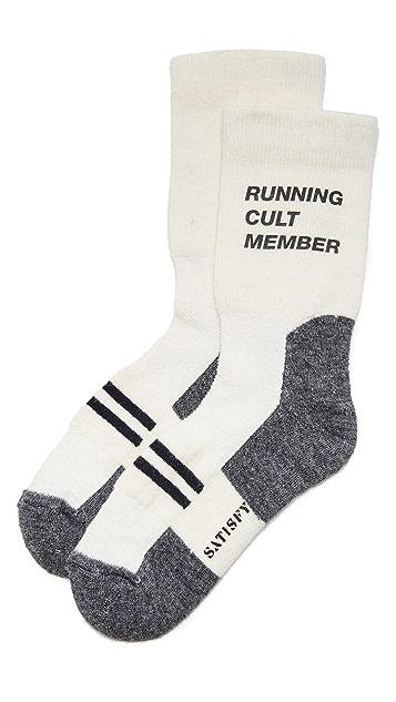 Satisfy Patchwork Crew Socks