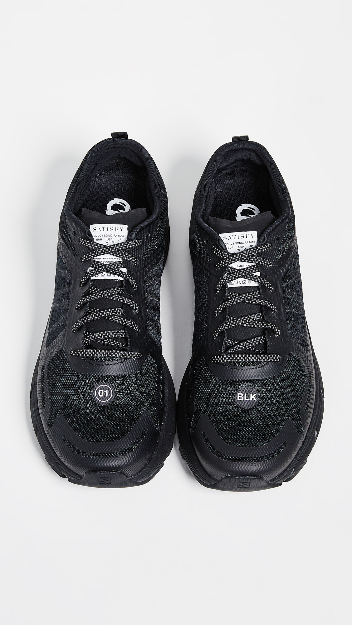 600cbf79b2ea5 Satisfy x Salomon Sonic RA Sneakers