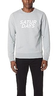 Saturdays NYC Bowery Gotham Sweatshirt