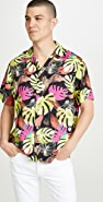 Saturdays NYC Canty Hyper Monstera Floral Shirt