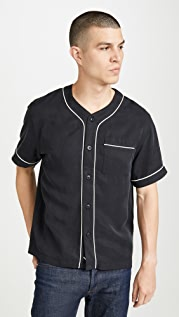 Saturdays NYC Benny Short Sleeve Baseball Shirt