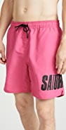 Saturdays NYC Timothy Accordion Swim Shorts