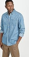 Saturdays NYC Kenmare Denim Longsleeve Shirt
