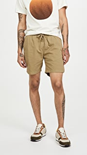 Save Khaki Twill Easy Shorts