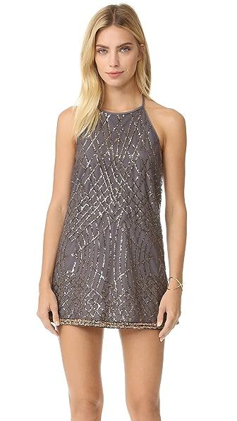 Saylor Goldy Mini Dress