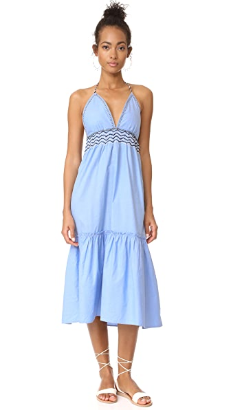 Saylor Kat Chambray Midi Dress