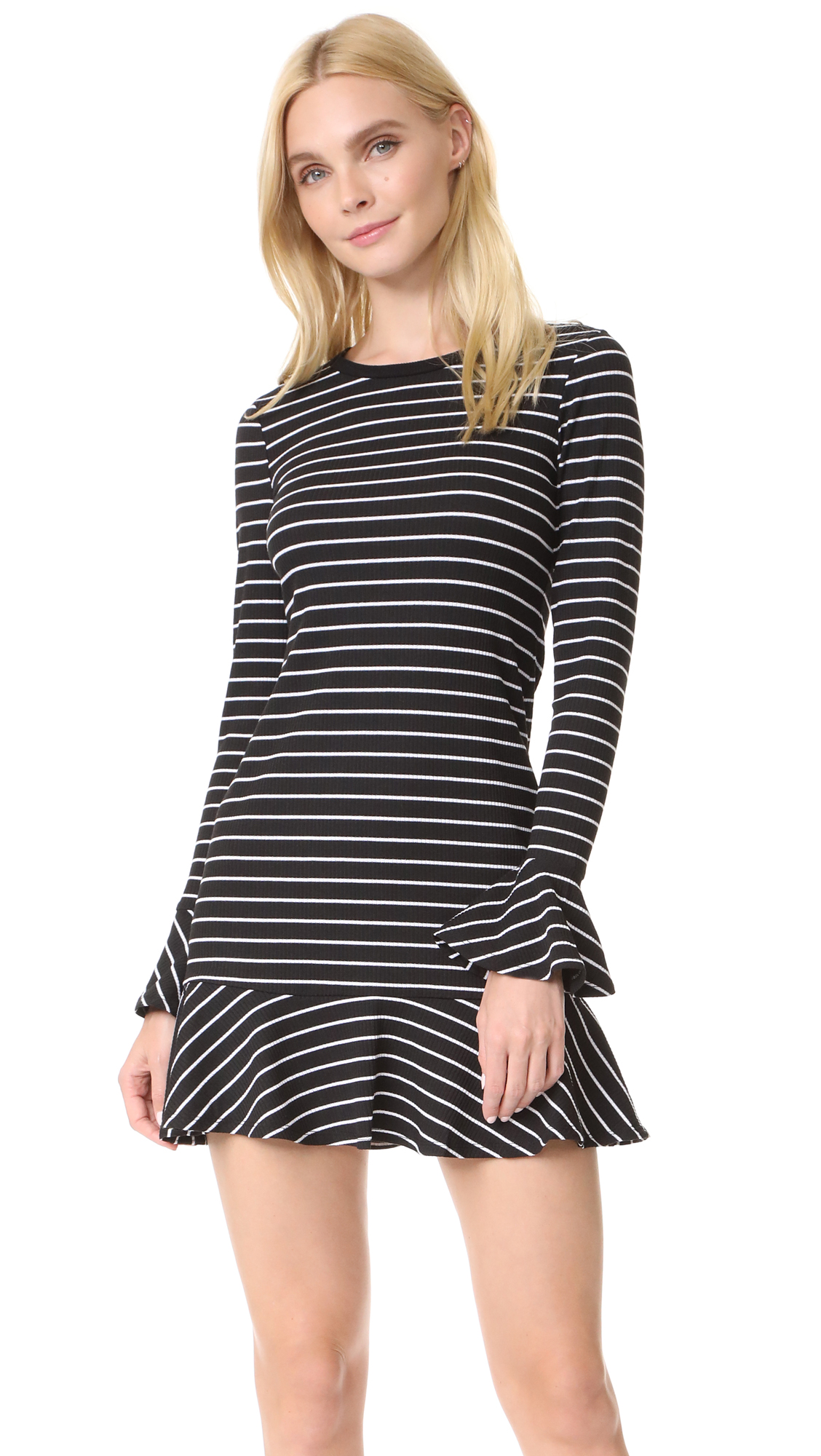 Saylor Tessa Stripe Dress
