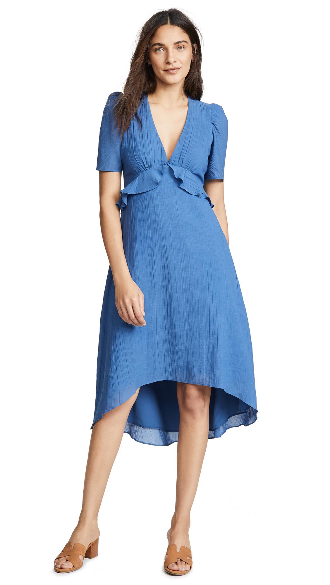 Saylor Deena Dress In Blue