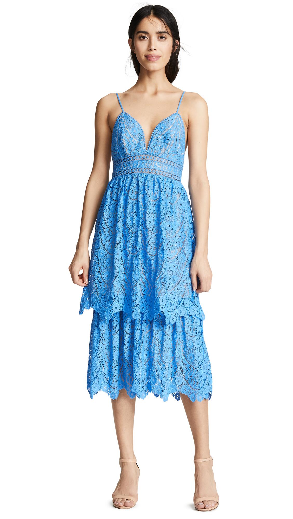 SAYLOR Safia Dress in Blue