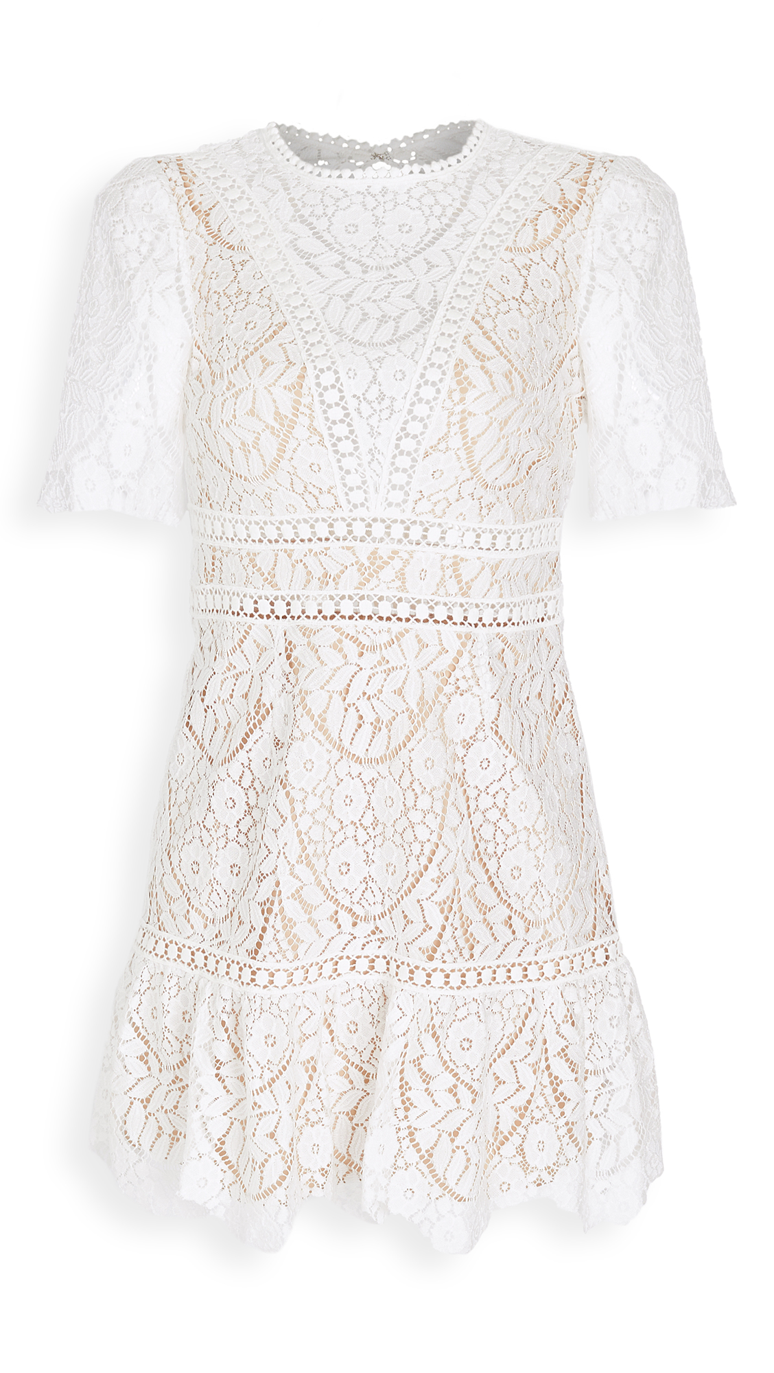 Saylor Darian Lace Mini Dress - 30% Off Sale