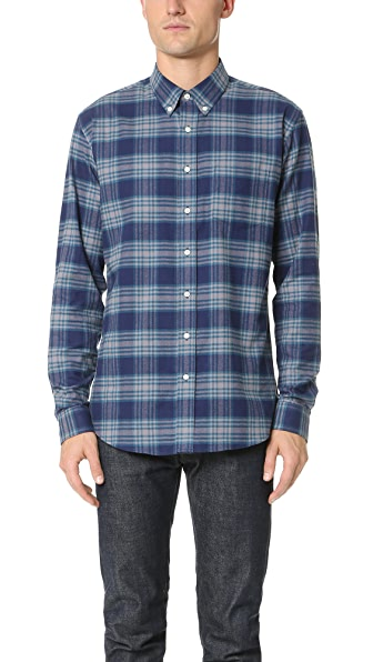 Schnayderman's Leisure Large Check Shirt