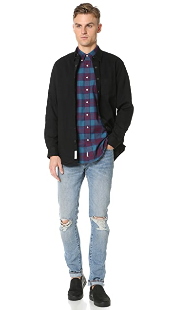 Schnayderman's Leisure Large Check Shirt