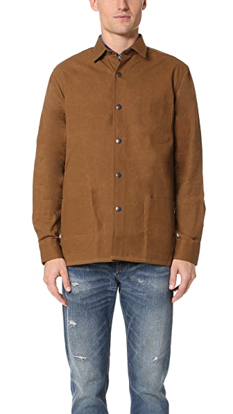 Schnayderman's Waxed Cotton Overshirt