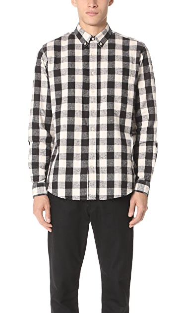 Schnayderman's Leisure Flannel Large Check Shirt