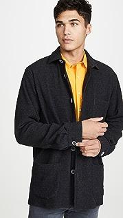 Schnayderman's Overshirt Textured Wool