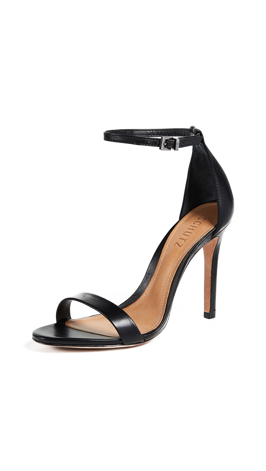 Schutz Cadey Lee Sandals - Black