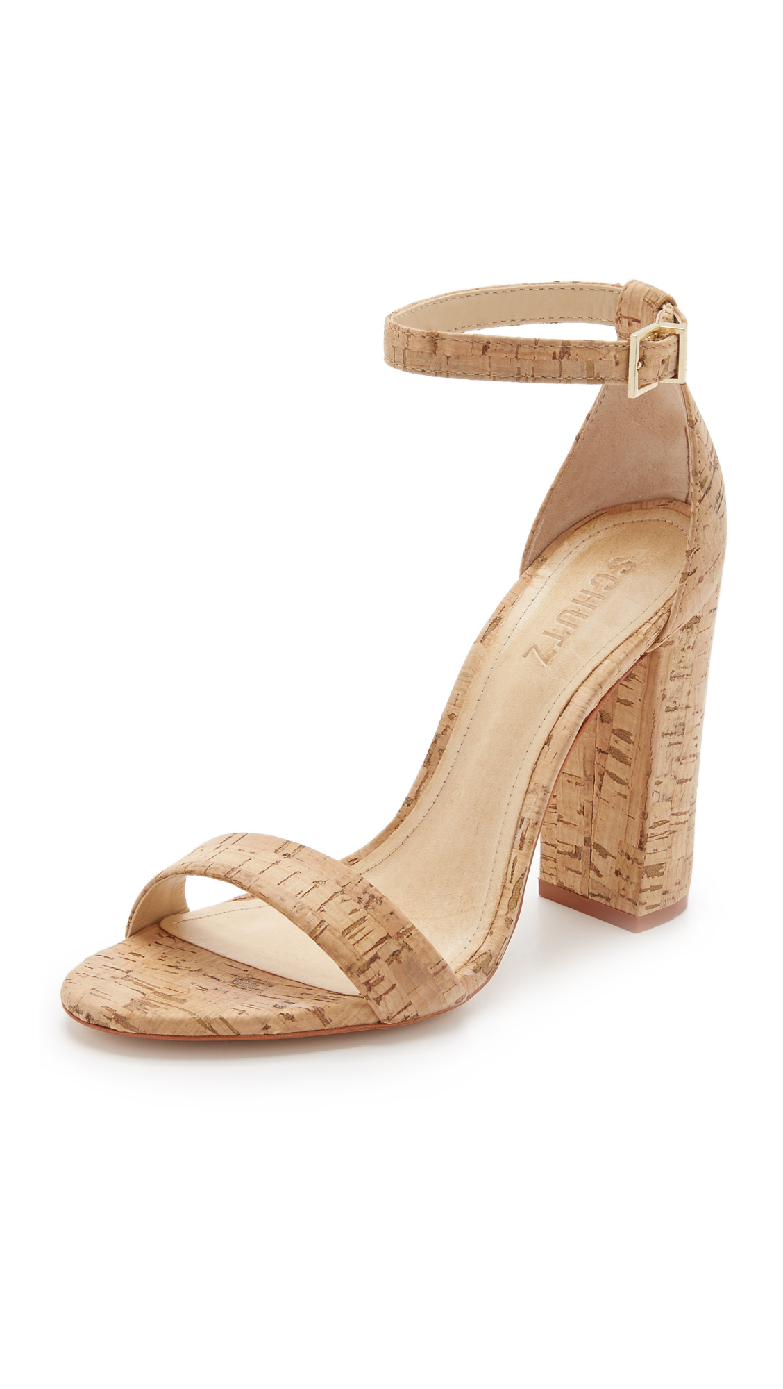 Schutz Enida Sandals - Natural